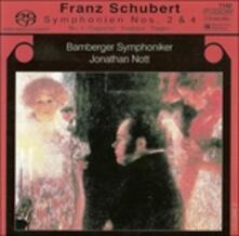 Sinfonie n.2, n.4 - SuperAudio CD ibrido di Franz Schubert
