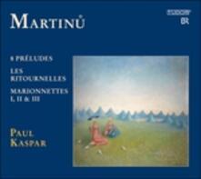 Opere per Pianoforte vol.3 - CD Audio di Bohuslav Martinu