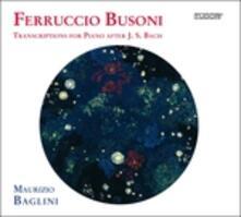 Trascrizioni per Pianoforte - CD Audio di Ferruccio Busoni