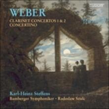 Concerti per clarinetto n.1, n.2 - SuperAudio CD ibrido di Carl Maria Von Weber