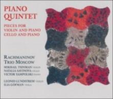 Quintetti con pianoforte - CD Audio di Anton Stepanovich Arensky