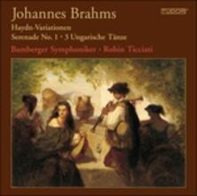 Variazioni su Un Tema di Haydn Op.56a - SuperAudio CD ibrido di Johannes Brahms