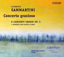 Concerto grazioso - CD Audio di Giuseppe Sammartini,Capriccio Barock Orchester