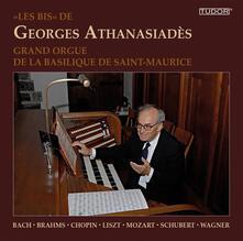 Les Bis' de Georges Athanasiadès - CD Audio di Johann Sebastian Bach,Johannes Brahms,Fryderyk Franciszek Chopin,Franz Schubert,Georges Athanasiades