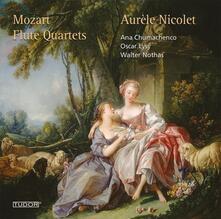 Quartetti per archi con flauto - CD Audio di Wolfgang Amadeus Mozart,Aurele Nicolet