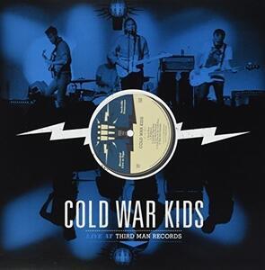 Third Man Live 12.12.10 - Vinile LP di Cold War Kids