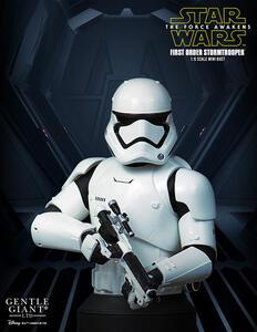 Sw First Order Stormtrooper Dlx Bust - 2