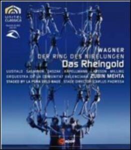 Richard Wagner. L'Oro del Reno di La Fura del Baus - Blu-ray