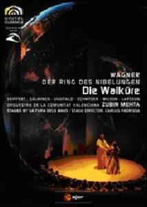 Richard Wagner. Die Walkure. La valchiria (2 DVD) di La Fura del Baus - DVD
