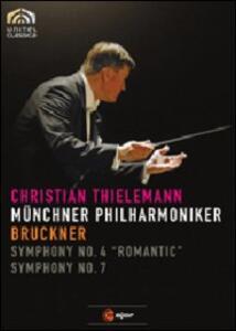 Bruckner. Sinfonie n.4, n.7 - DVD
