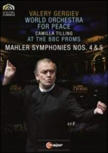 Gustav Mahler. Synphonies nos. 4 & 5 - DVD