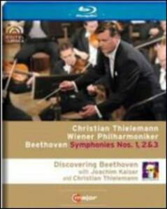 Christian Thielemann. Symphonies Nos. 1-3. Discovering Beethoven - Blu-ray