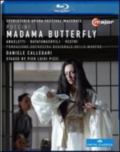 Giacomo Puccini. Madama Butterfly di Pier Luigi Pizzi - Blu-ray