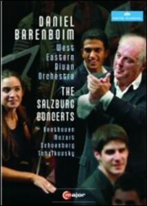 Daniel Barenboim and the West-Eastern Divan Orchestra. The Salzburg Concerts - DVD
