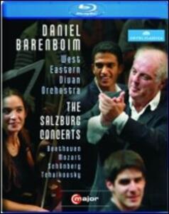 Daniel Barenboim and the West-Eastern Divan Orchestra. The Salzburg Concerts - Blu-ray