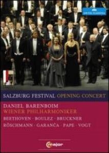 Salzburg Opening Concert 2010 - DVD