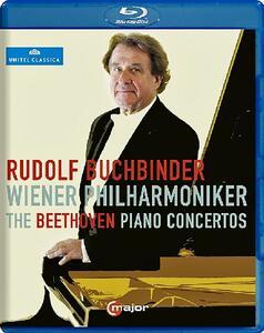 Ludwig van Beethoven. Piano Concertos Nos. 1-5 - Blu-ray