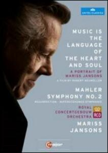 Mariss Jansons. Music is the language of the heart and soul. A Portrait (2 DVD) di Robert Neumüller - DVD