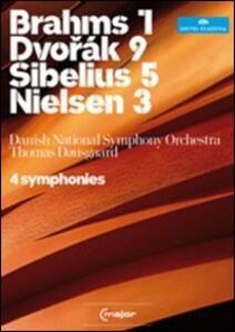 Brahms 1, Dvorak 9, Sibelius 5, Nielsen 3 (2 DVD) - DVD