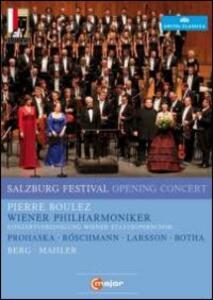 Salzburg Festival Opening Concert 2011 - DVD