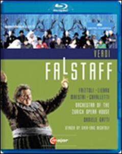 Giuseppe Verdi. Falstaff di Sven-Eric Bechtolf - Blu-ray