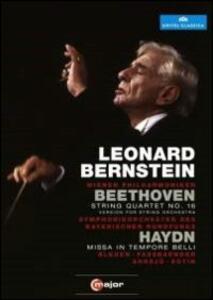 Leonard Bernstein conducts Beethoven & Haydn - DVD