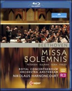 Ludwig van Beethoven. Missa Solemnis in D major, Op. 123 - Blu-ray