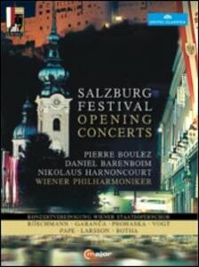 Salzburg Festival Opening Concerts (4 DVD) - DVD