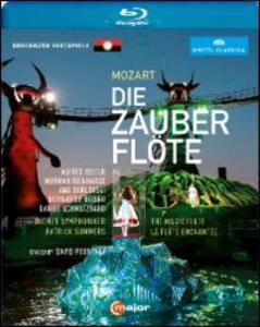 Wolfgang Amadeus Mozart. Il flauto magico. Die Zauberflöte di David Pountney - Blu-ray