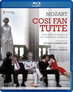 Wolfgang Amadeus Mozart. Così fan tutte di Michael Haneke - Blu-ray