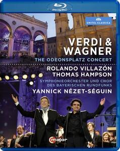 Verdi & Wagner: The Odeonsplatz Concert - Blu-ray