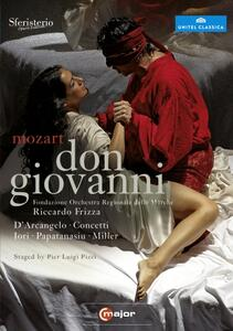 Wolfgang Amadeus Mozart. Don Giovanni (2 DVD) - DVD