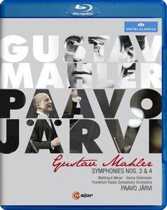 Gustav Mahler. Symphonies Nos. 3 & 4 - Blu-ray