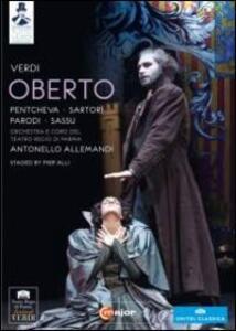Giuseppe Verdi. Oberto conte di San Bonifacio di Pierluigi Pier'Alli - DVD
