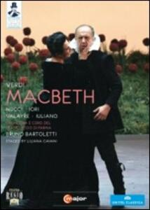 Giuseppe Verdi. Macbeth di Liliana Cavani - DVD