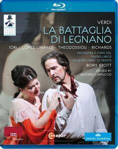 Giuseppe Verdi. La battaglia di Legnano - Blu-ray