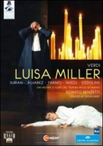 Giuseppe Verdi. Luisa Miller - DVD