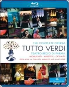 Giuseppe Verdi. Tutto Verdi - Blu-ray