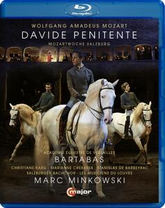 Wolfgang Amadeus Mozart. Davide Penitente K 469, Adagio e Fuga in Do Minore K 54 - Blu-ray