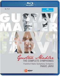 Gustav Mahler. Sinfonie (integrale): Sinfonie Nn.1-9, Sinfonia N.10 (5 Blu-ray) - Blu-ray