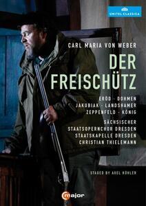 Carl Maria Von Weber. Il Franco Cacciatore (2 DVD) - DVD
