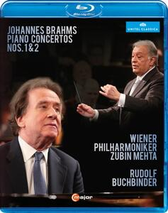 Johannes Brahms. Concerto Per Pianoforte N.1 Op.15, N.2 Op.83 - Blu-ray