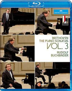 Beethoven. Sonate per pianoforte vol.3 - Blu-ray