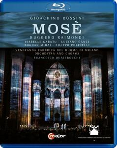 Gioachino Rossini. Mosè - Blu-ray