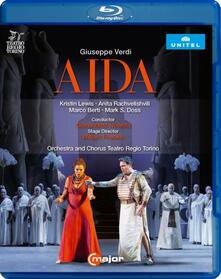 Giuseppe Verdi. Aida di William Friedkin - Blu-ray