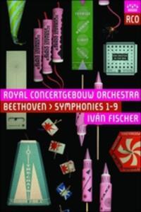 Ludwig van Beethoven. Symphonies nos. 1-9 (3 DVD) - DVD
