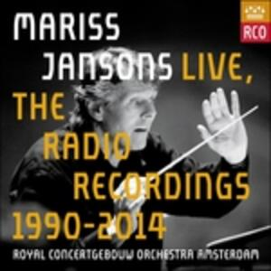 Live. The Radio Recordings 1990-2014 (Box Set 13 CD + 1 DVD) - CD Audio + DVD di Mariss Jansons,Royal Concertgebouw Orchestra
