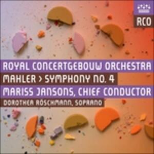Sinfonia n.4 - SuperAudio CD di Gustav Mahler,Mariss Jansons,Dorothea Röschmann