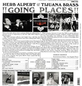 Going Places - Vinile LP di Herb Alpert,Tijuana Brass - 2