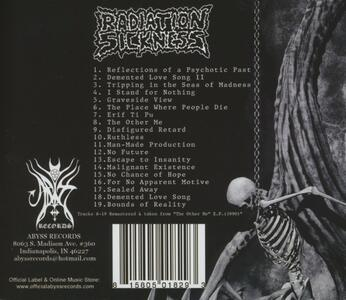 Reflections of A - CD Audio di Radiation Sickness - 2